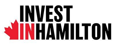 The logo for Invest in Hamilton
